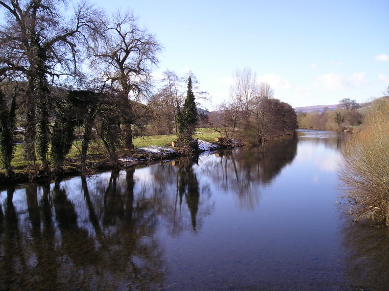 image of river usk